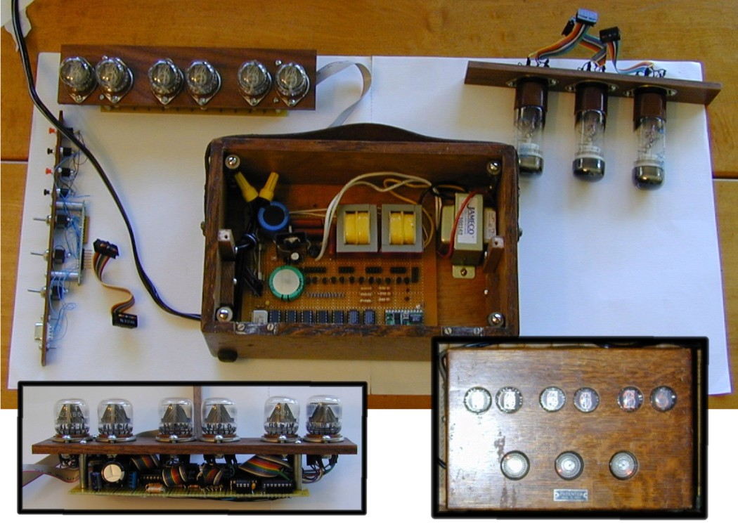 My Other Projects Nixieclock 1 Schematic And Sourcecode Availiable For Combo Nixie Tube Dekatron Clock